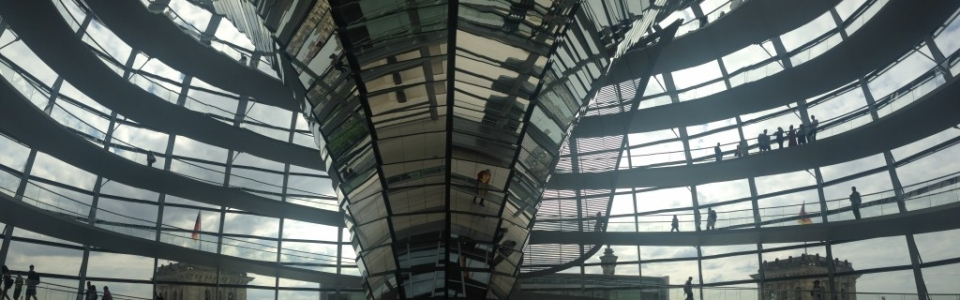 Inside the Bundestag-Dome