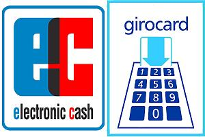 EC / Girocard acceptance logo. If you see only this, don't expect your international debit / credit card to work.